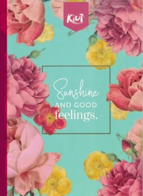 Notebook Kiut Floral Lrg (200 pgs)