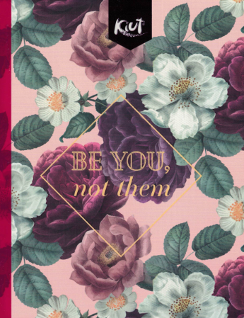 Notebook Kiut Floral Peq. (200 pgs)