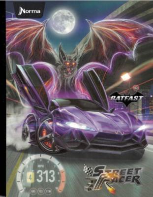 Notebook Street Racer Small (200 pgs)