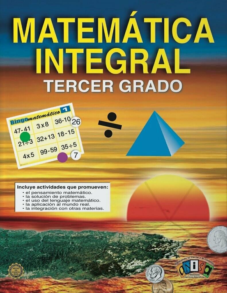 Book Matematica Integral Tercer Grado