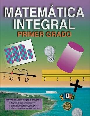 Book Matematica Integral Primer Grado
