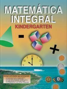 Book Matematica Integral Kindergarten