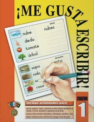 Book Me Gusta Escribir #1