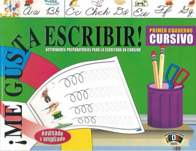 Book Me Gusta Escribir Primer Cuaderno Cursivo