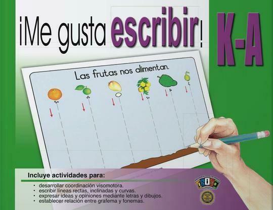 Book Me Gusta Escribir KA