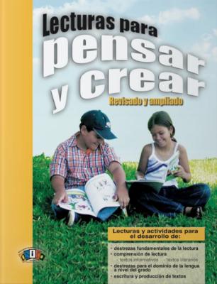 Book Lecturas para Pensar y Crear- Tercer Grado
