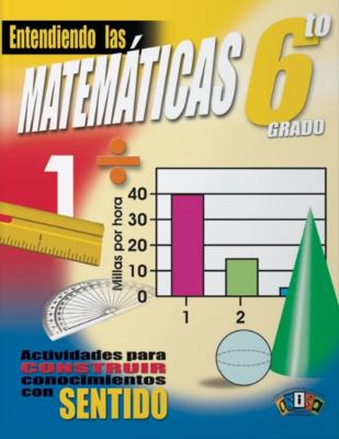 Book Entiendo las Matemáticas 6to grado