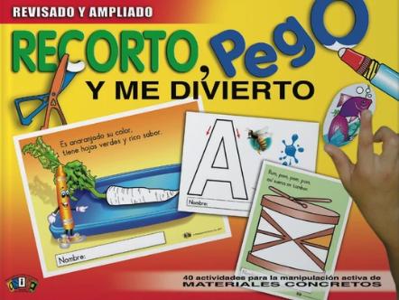Book Recorto, Pego y Me Divierto
