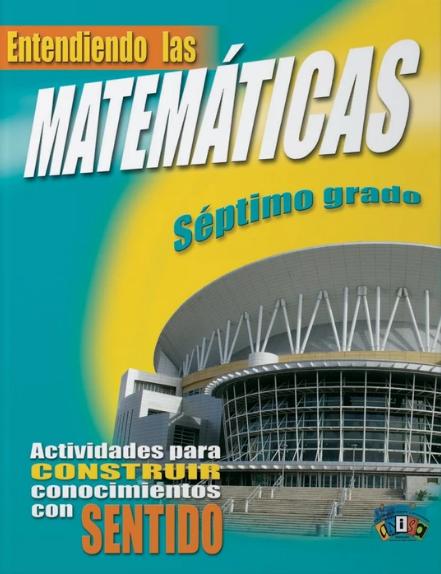 Book Entiendo Las Matemáticas Séptimo Grado