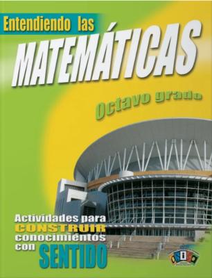 Book Entiendo Las Matemáticas Octavo Grado