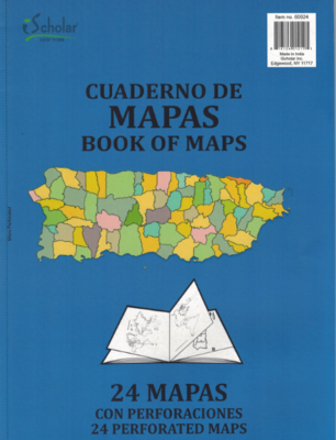 Book of Maps [24 maps]