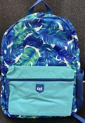 Backpack Kiut Large- Blue Forest