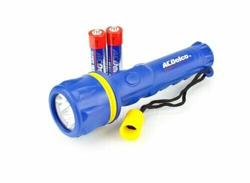 Flashlight 2D 7 LEDw/Battery