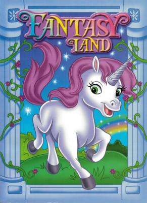 Coloring Book Fantasy Land