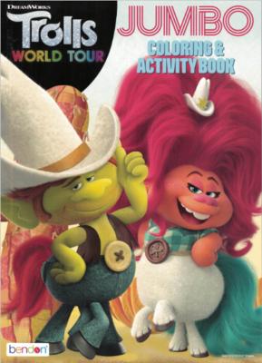 Coloring Book Trolls