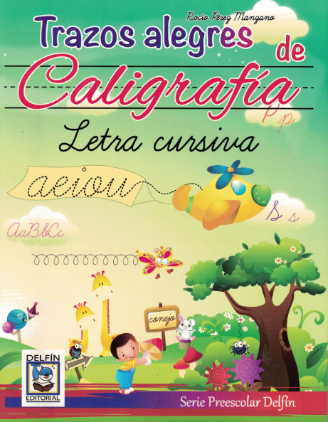 Workbook Trazos alegres de Caligrafía- Cursivo