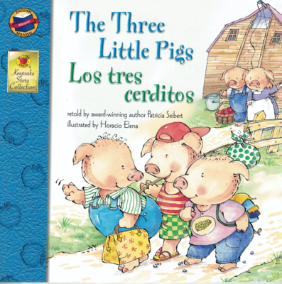 Story Book Bilingual- The Three Little Pigs