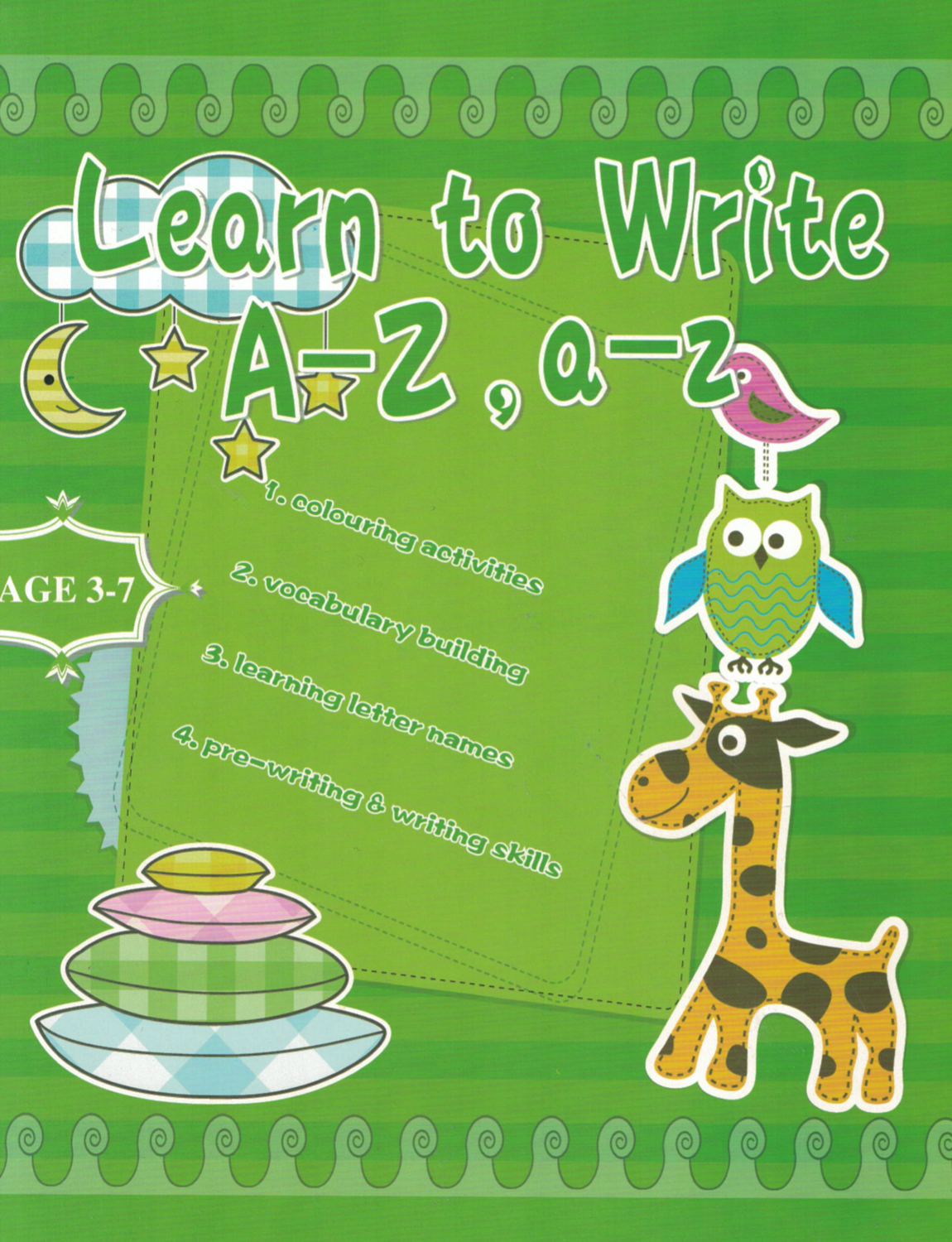 Workbook Learn to Write A-Z, a-z