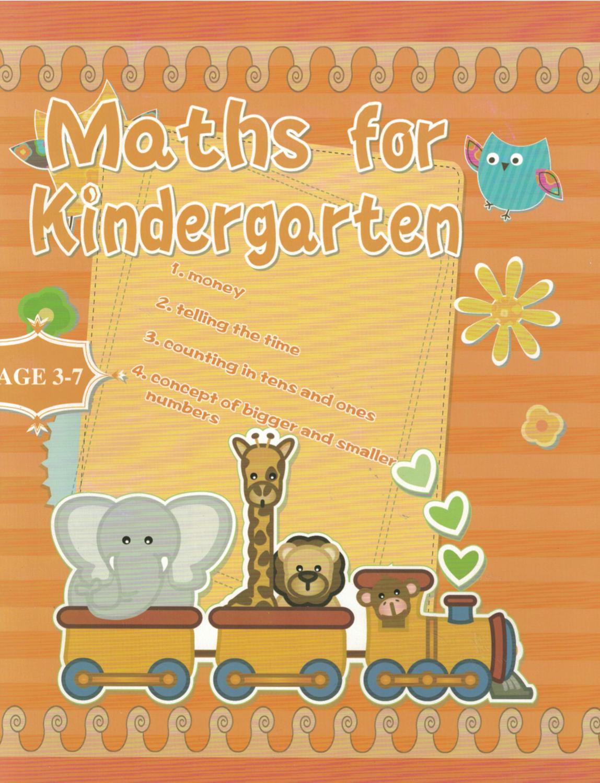 Workbook Maths for Kindergarten