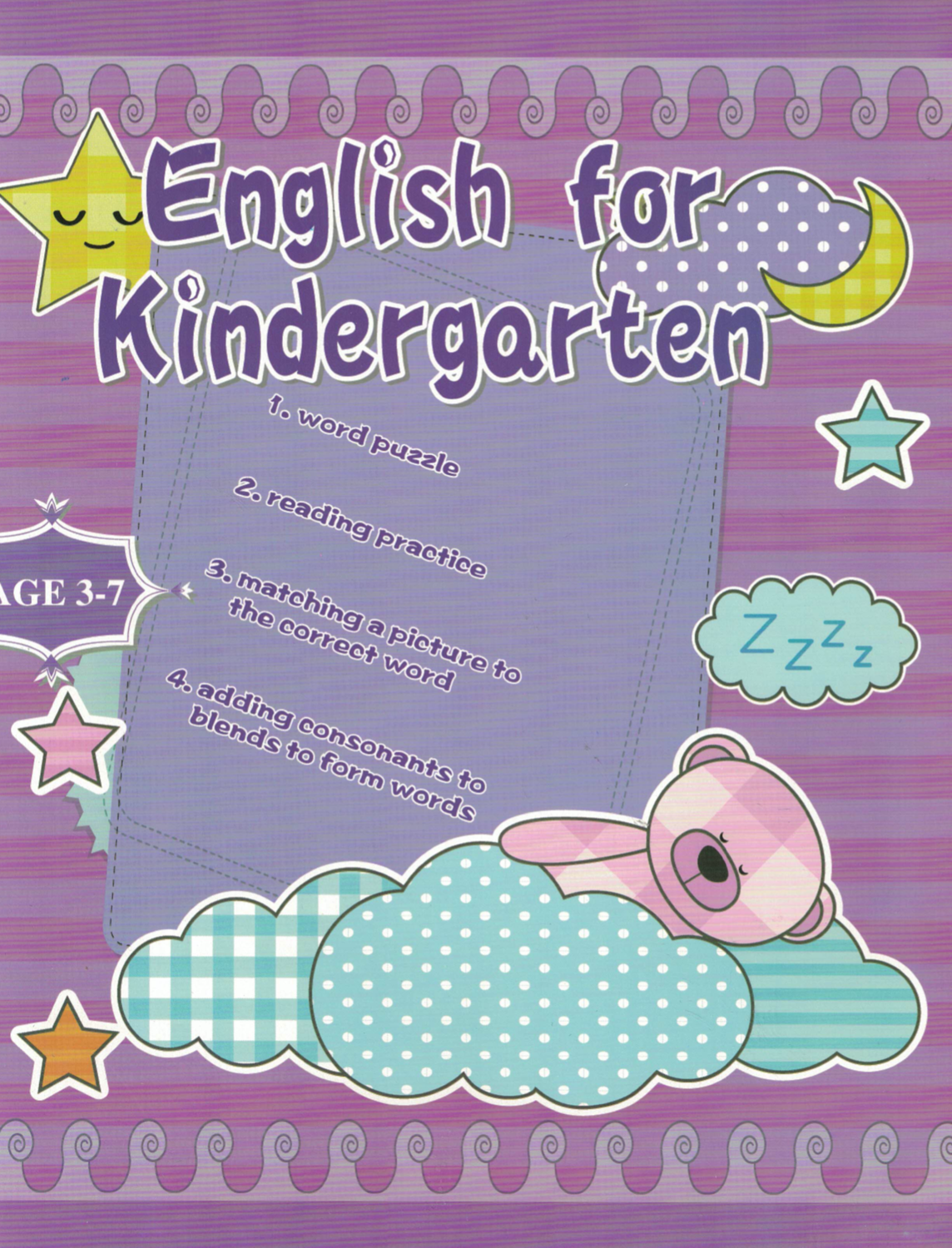 Workbook English for Kindergarten