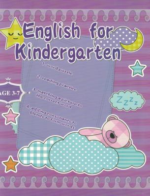 Workbook English for Kindergarten