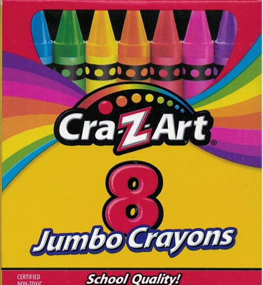 Crayons Cra-Z-Art Jumbo (bx-8)