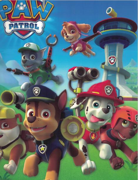 Twin Pocket Paw Patrol
