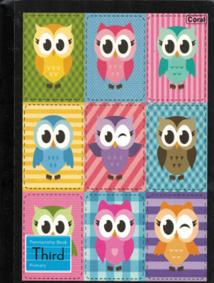 Notebook Owl Third