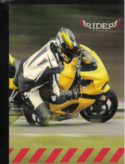 Notebook Rider Regular [200pags]