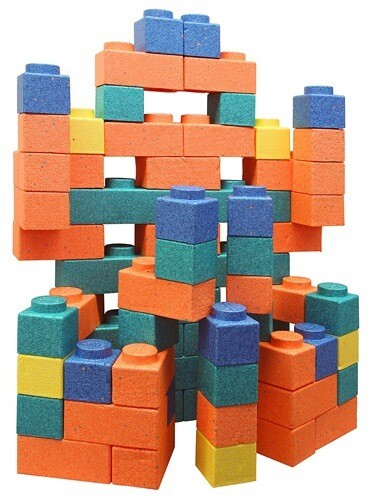 Chenille Kraft Gorilla FOAM Building BLOCKS Game