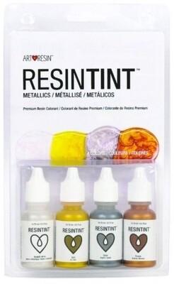Art Resintint Metallics (pk-4)