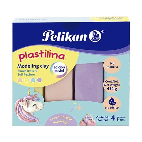 Modeling Clay Pastel Colors (pk-4)