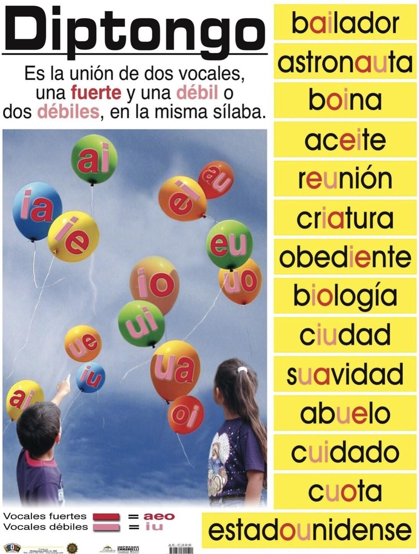 Poster Diptongo