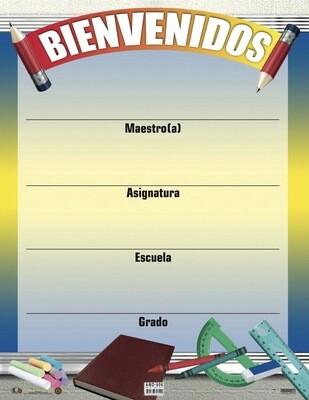 Poster Bienvenidos
