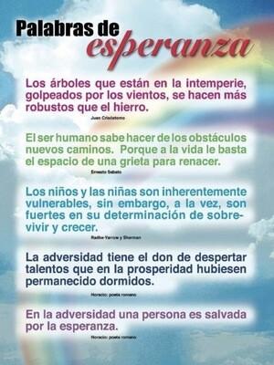 Poster Palabras De Esperanza