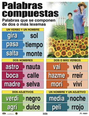 Poster Palabras Compuestas