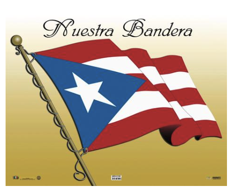 Poster Nuestra Bandera