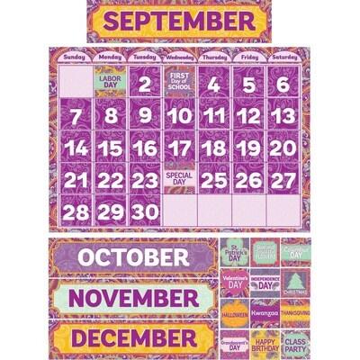 Positively Paisley Calendar Set