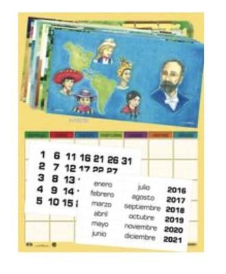 Set Calendario Temático