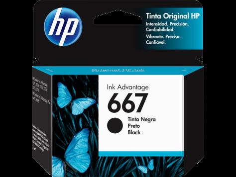 Ink HP 3YM79AL [667] Black