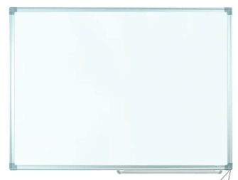 Magnetic Whiteboard, Alum Frame, 4' x 6' <Pizarra>