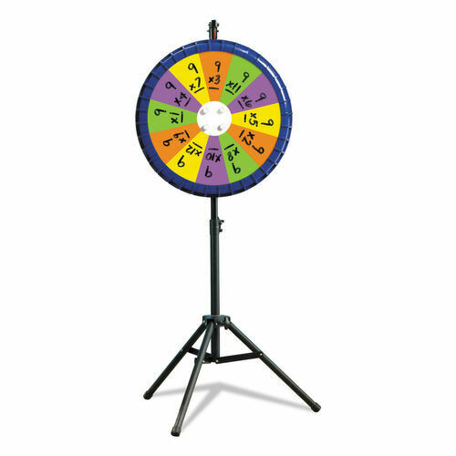 Remarkable Spin Wheel, Classroom Game, 4 wheels in 1