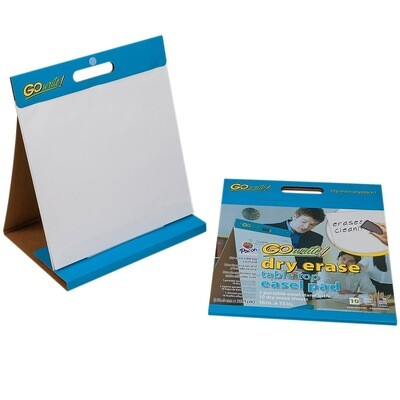 """Dry Erase Table Top Easel Pad (10 Sheets) 16""""x15"""""""