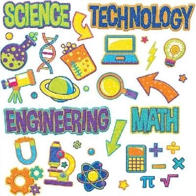 Mini Bulletin Board Set - Colour My World STEM