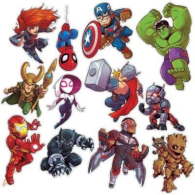 Marvel Super Hero Adventure 2-Sided Deco Kits