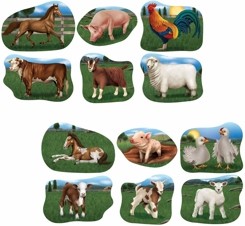 Cutouts Farm Animals
