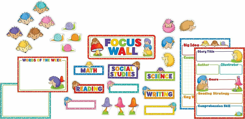 BBS Happy Hedgehogs Focus Wall (31 pcs)