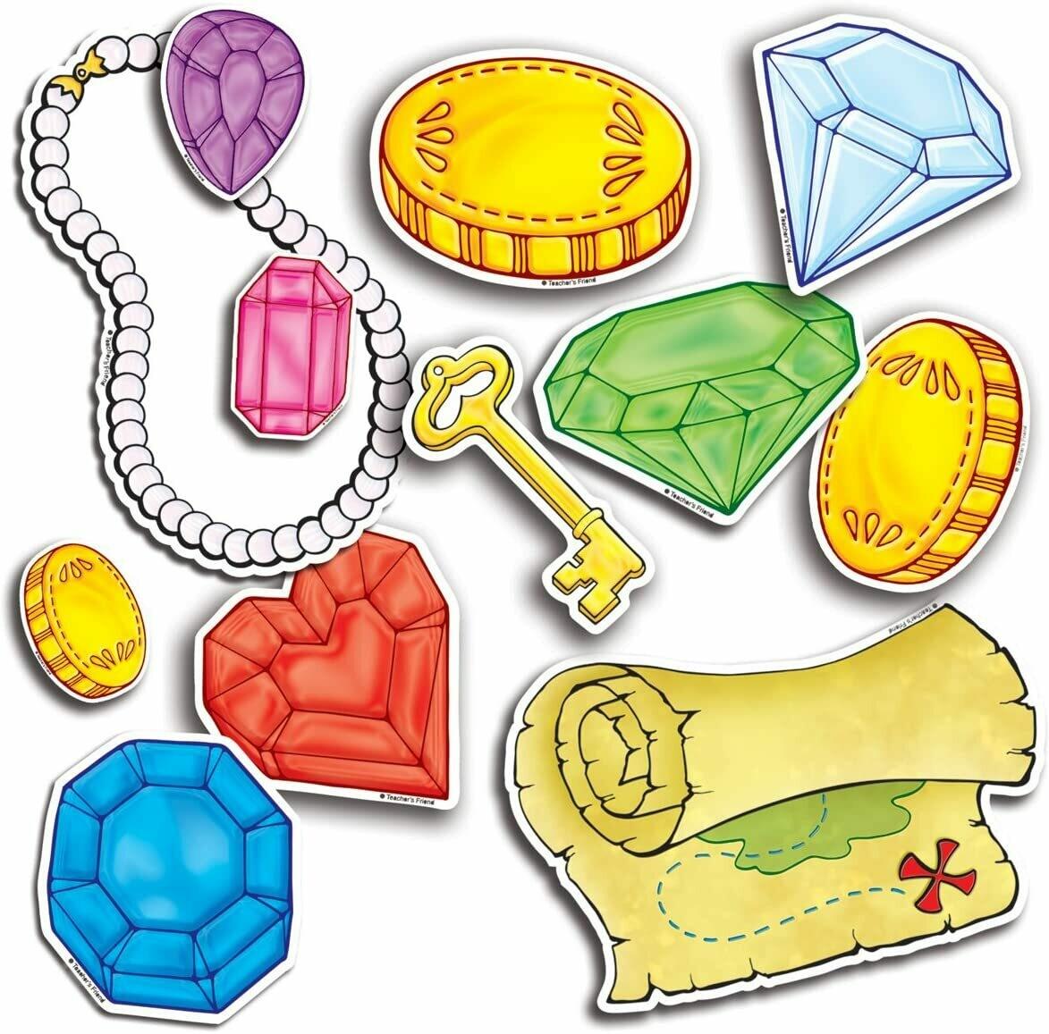 Mini Bulletin Board Set Treasure Gems (72 pcs)