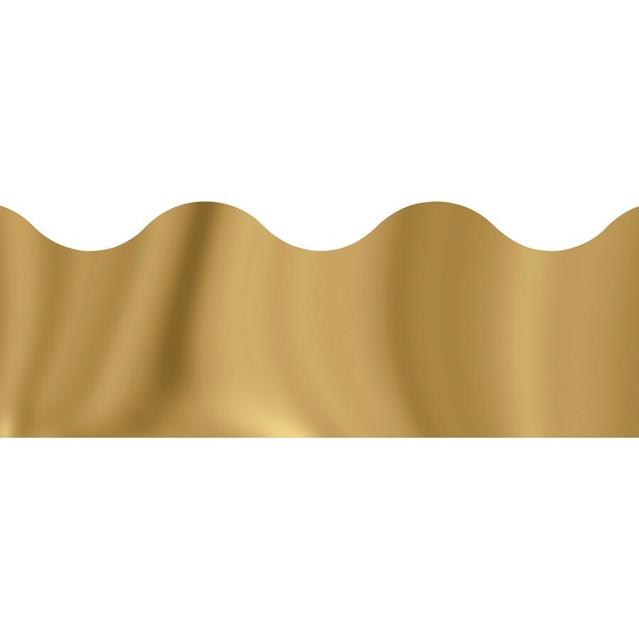 Borders Gold Metallic
