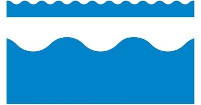 Borders 39 feet- Blue